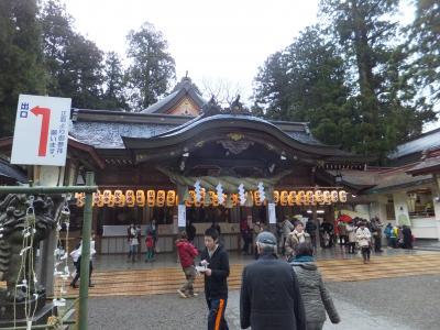 2014 日本最長路線バスと京都・北陸18きっぷの旅【その9】白山比咩神社で初詣
