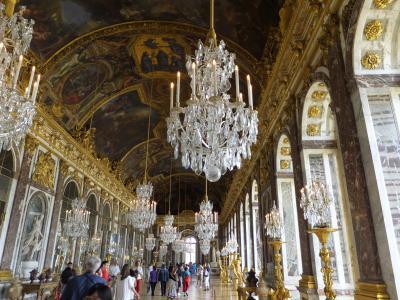 ヨーロッパ5ヶ国周遊とバンコク 6 ベルサイユ宮殿観光編 2014年6月8日