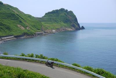 笠島海岸ツーリング