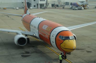 年越しプーケット&バンコク*2日目:くちばし飛行機でプーケット!