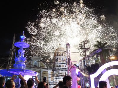 女ひとりでフィリピン14★マニラ★楽しかった、チャイナタウンで年越し!!