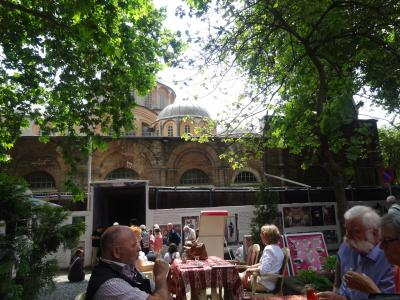 ビザンチン・モザイク壁画を訪ねて       イスタンブール:カーリエ博物館の巻
