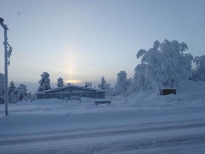 ☆ともだち旅 オーロラを見にフィンランドへ 4泊6日☆ 1日目はサーリセルカで
