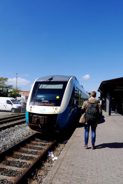 2014.5コペンハーゲン出張旅行12-AarhusからRibeまでの列車の旅 RE2920 RA5735