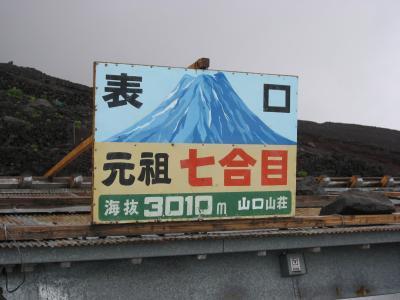 2012☆富士山登山 (リタイア編)
