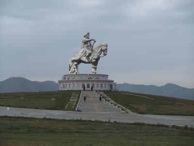 草原の輝き in モンゴル (テレルジ国立公園)