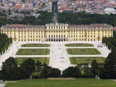ヨーロッパ5ヶ国周遊とバンコク 29 シェーンブルン宮殿観光編 2014年6月18日