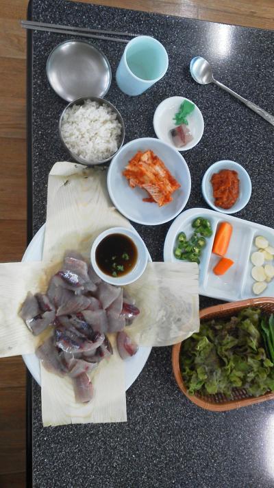ポハン竹島市場グルメ(刺身)と魚市場の旅