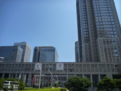 2014年07月 梅雨の晴れ間(?)に ついでの西新宿観光
