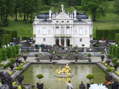 ヨーロッパ5ヶ国周遊とバンコク 32 オーバーアマガウ・リンダーホーフ城編 2014年6月20日
