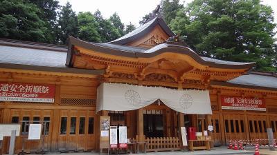 乳白色の温泉紀行(07)・・・穂高神社 旅の無事を祈り参拝