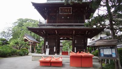 乳白色の温泉紀行(08)・・・東光寺の大きな鉄製の下駄