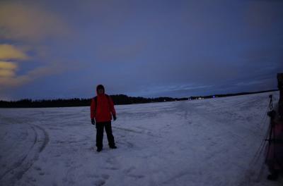 森と湖の国オーロラを求めて ロヴァニエミのオーロラ・ハンテイング