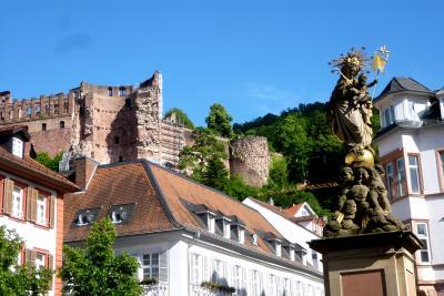 シニア男女3人組ドイツ王道の旅 ☆ハイデルベルク