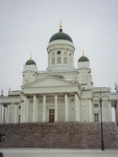 ☆ともだち旅 オーロラを見にフィンランドへ 4泊6日☆ 最終5日目は、ヘルシンキ市内観光