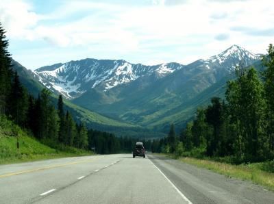 アラスカ 北の大地&野生動物(1/全9): 準備編, 往路, スワード・ハイウェイ