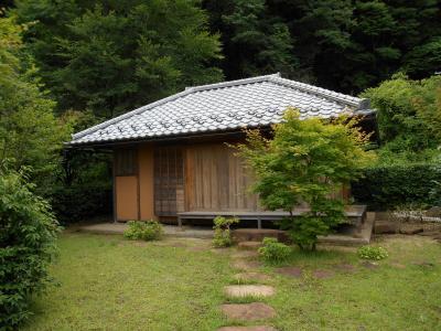 甲斐郡内 江戸大火により門人の招聘で谷村に滞在した松尾芭蕉寓居の地を散歩