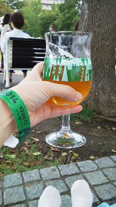 ベルギービールを飲みにGO 2014 山下公園