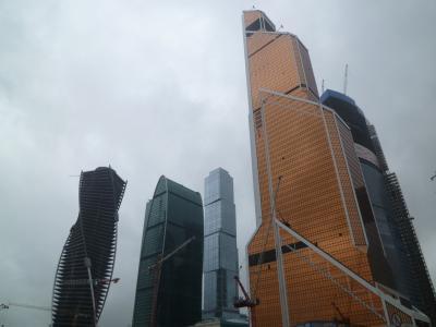 モスクワ唯一の高層ビル街「モスクワシティ」でロシアの中の日本を垣間見る