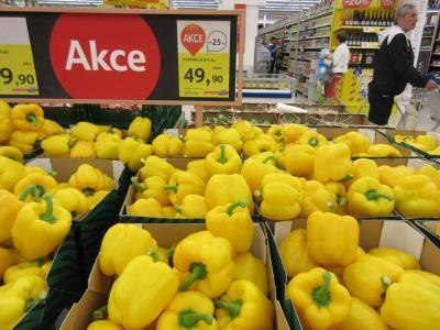2014ドイツ、チェコ、オーストリア一人旅14プラハ スーパーマーケット