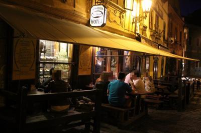 チェコ南ボヘミア旅行④ チェスキー・クルムロフの夜