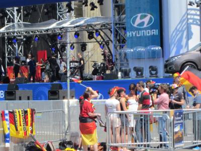 顔文字一人旅旅行記・真夏のベルリンはワールドカップで大盛り上がり(・д・´*)9~11日目