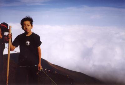 富士、山頂アタック