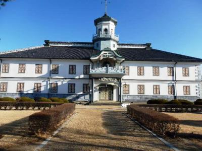 日本の旅 中部を歩く 長野県松本市の旧開智学校(きゅうかいちがっこう)、松本市旧司祭館(まつもとしきゅうしさいかん)、松本市周辺のアルプスの山並み