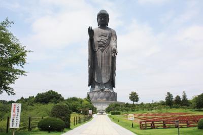牛久大仏 青銅製立像で世界一としてギネスブックに登録されてます~知ってますか・・