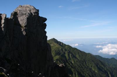 2012☆中央アルプス 木曽駒ケ岳 宝剣岳登山