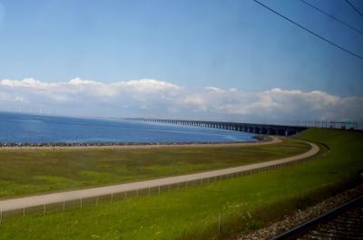 2014.5コペンハーゲン出張旅行16-ストアベルト海峡を渡り,コペンハーゲンへ,コペンハーゲンGOホテル