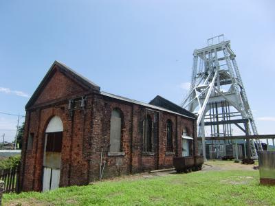 世界遺産候補の三池炭鉱の産業遺産を廻りました。