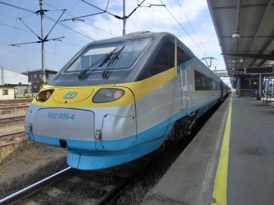 2014年7月 中欧4ヵ国とドイツをめぐる鉄道の旅 (8) オストラヴァ~プラハ SC乗り鉄編