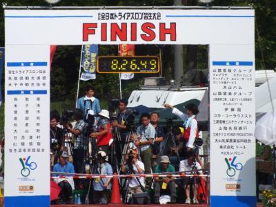 鳥取県米子市 感動のドラマ!!第34回全国トライアスロン皆生大会★ 2014.7.20