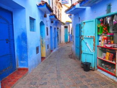 スペイン、セウタからモロッコへの旅。