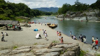 海の日にあえて川へ:長瀞で食べるかき氷は特別だったのか?