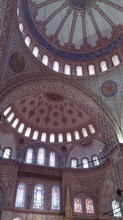 ブルーモスクを見にイスタンブールへ。旅行4日目