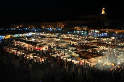 GW次なる絶景を求めてモロッコへ(喧騒のマラケシュ編)