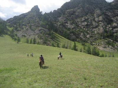 モンゴルでプライスレス体験☆ Part 3 テレルジ乗馬編