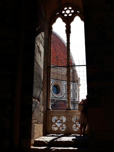 奥様ご満足イタリアの旅【ノウハウ】(1)登るフィレンツェ、登るピサ