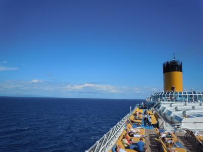 紺碧の海と空に白い航跡を残して~美しい~エーゲ海クルーズ♪vol.5 カタコロンの古代オリンピア遺跡はパワースポット^^v