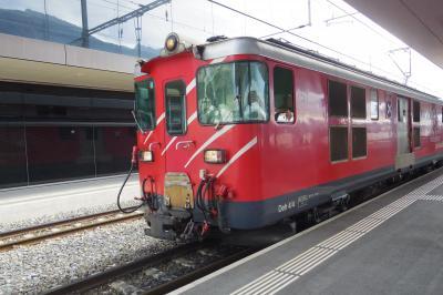 スイス ハイキングの旅 VOL.1 (飛行機でチューリッヒ → 鉄道でツェルマット / ツェルマットのホテル 編)