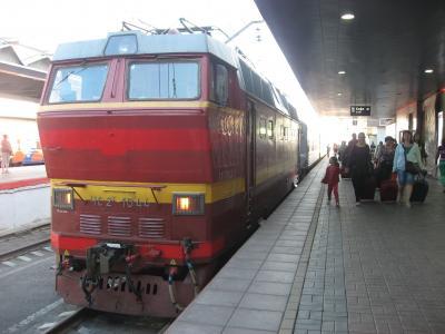 '14 ロシア旅行14 寝台列車でモスクワへ移動~コスモスホテル着