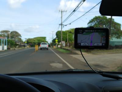 ハワイでカーナビを買う(2014.07)GARMINガーミンINカウアイ