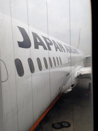 JAL往復ビジネスクラスで行くはじめてのアメリカ①