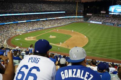自由すぎる社員旅行でロサンゼルス*2日目:歩きまくった日中とドジャース観戦の夜
