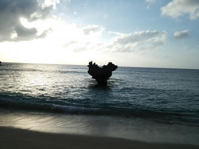 古宇利島でハート岩とご対面♪
