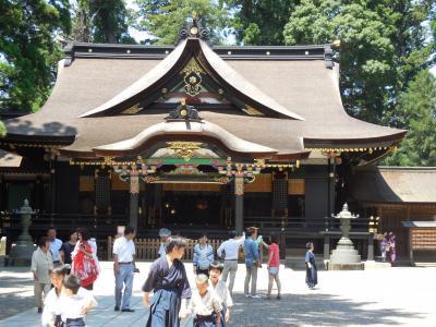 香取神宮を参拝する