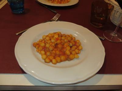 イタリア美食紀行 その19 ピサでニョッキをいただく