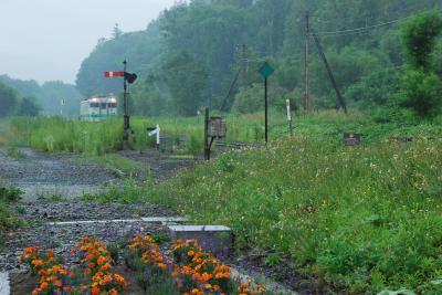 鉄道員(幌舞駅)で元気づいている南富良野を訪ねて(北海道)